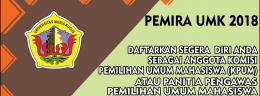 Persyaratan Anggota KPUM dan Panwaslum Pemira UMK 2018