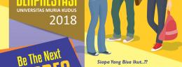 Pemilihan Mahasiswa Berprestasi Universitas Muria Kudus Tahun 2018