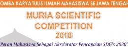 KMK Selenggarakan Karya Tulis Ilmiah Se Jawa Tengah dengan MSC